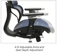 OFM Core Chair - Adjustable Arms