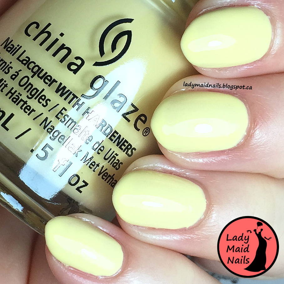 Lady Maid Nails: China Glaze Review, Pastel and Shades Of Nude ...