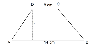 menghitung tinggi trapesium