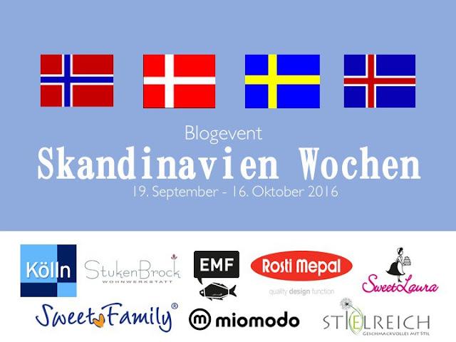 Skandinavien Wochen bei Antonella's Backblog