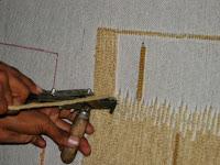 Hand-tufted Gun machine