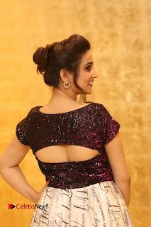 Actress Anchor Manjusha Pictures at Babu Bangaram Success Meet  0015
