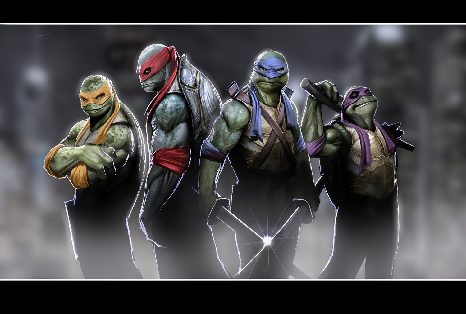 Film Super 7 MOVIE HYPE SA TEENAGE MUTANT NINJA TURTLES Reboot x