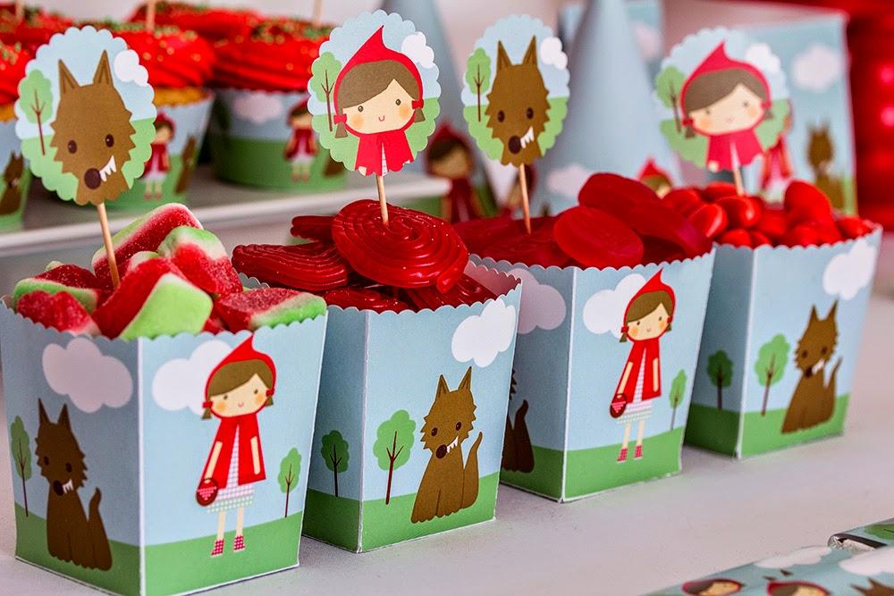Ideas cumpleaños Caperucita Roja