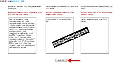 Cara Memasang Script Iklan PPC Kliksaya Pada Sidebar Blog