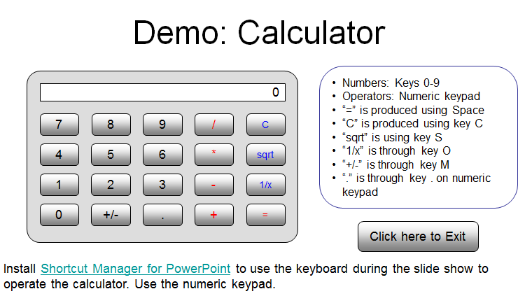How to clear microsoft calculator using a keyboard shortcut.