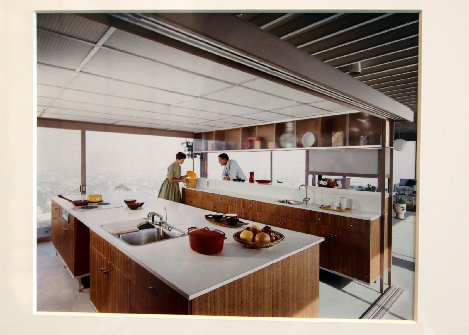 Mid century modern bathroom counters mid century modern - Mid century modern kitchen cabinets ...