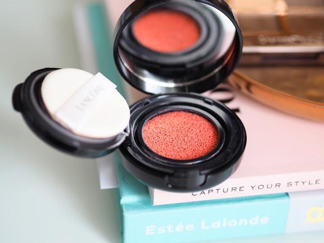 Lancome cushion blush subtil in splash corail