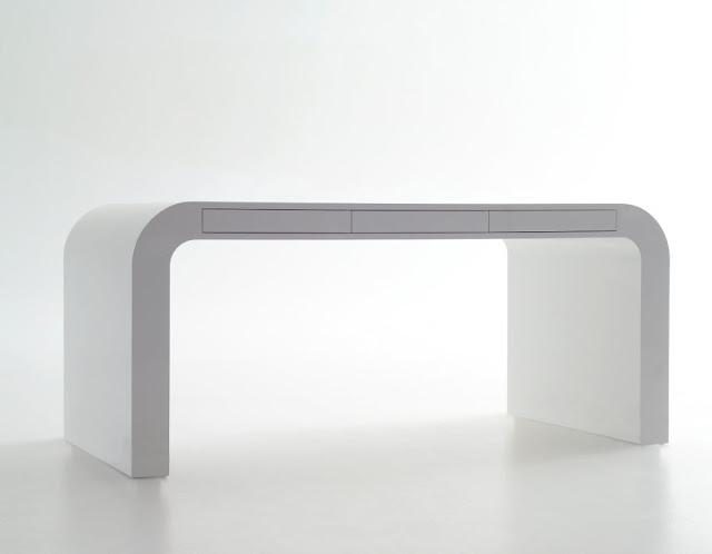 model meja komputer kantor minimalis