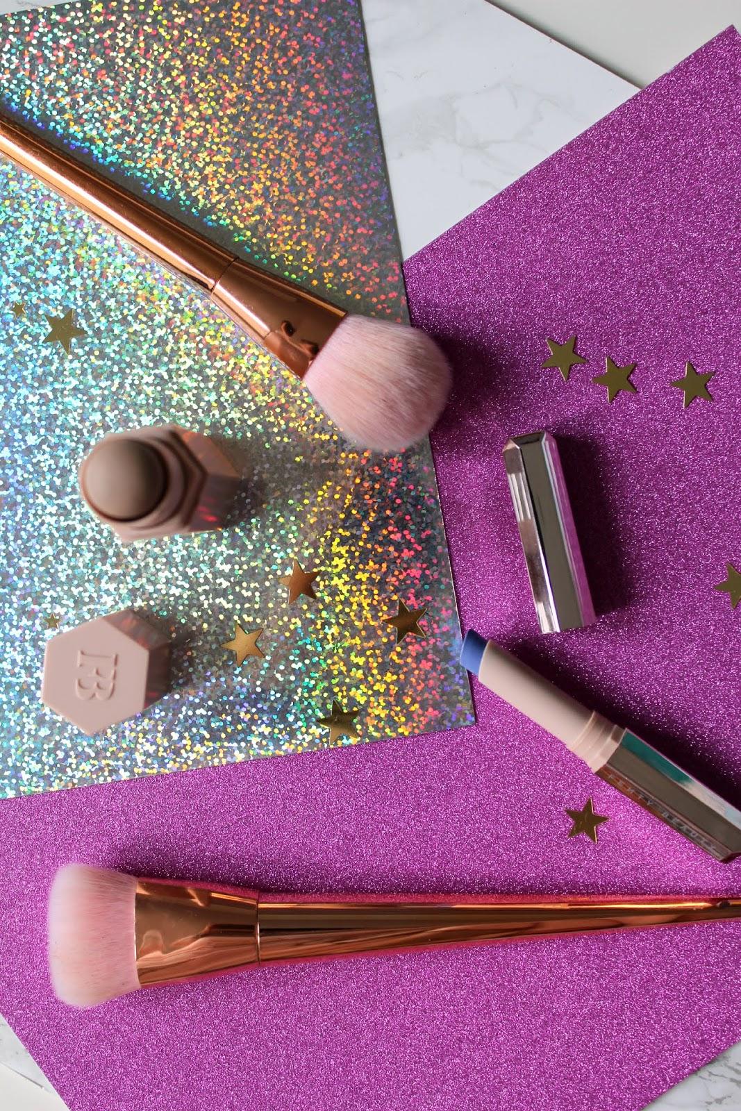 fenty beauty cosmetics, mattemoiselle lipstick ya dig?!, amber match stix contour, swatches, review, first impressions