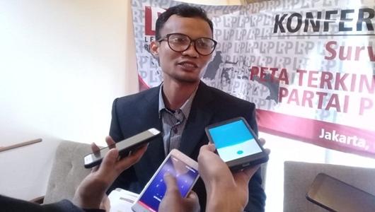Survei LRP Sebut Elektabilitas Gerindra Turun Dipengaruhi Hoaks