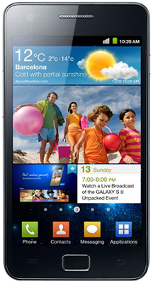 Samsung Galaxy S II receives Android 4.1 Jelly Bean software update