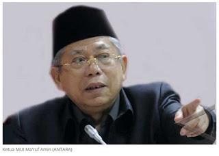Ketua MUI KH. Ma'ruf Amin Minta Ormas Islam Tidak Perlu Jaga Gereja Saat Natal, Ini Alasannya
