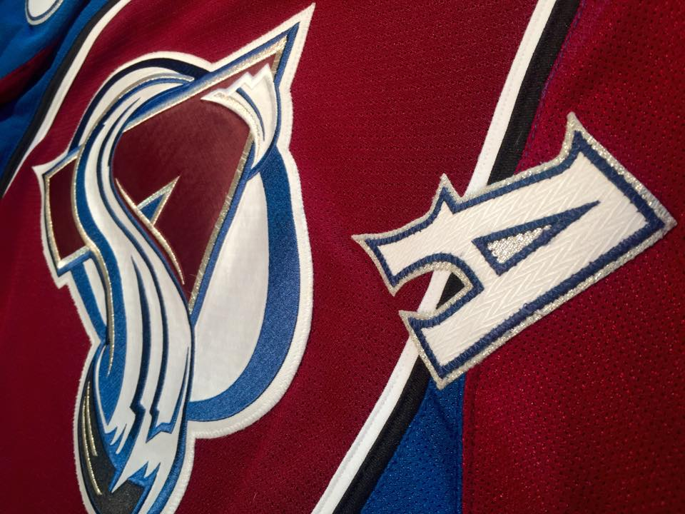 100% authentic 7c6ae 27b4a Colorado Avalanche Game Worn Jerseys