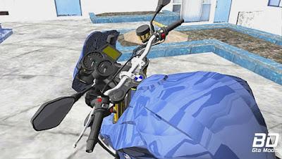 Mod , Moto, BMW F800R para GTA San Andreas, GTA SA