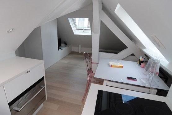 Un hogar pequeño de 16 m2 en París