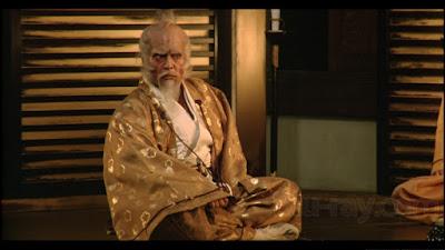 Tatsuya Nakadai as Lord Hidetora in Oscar winning Japanese war epic Ran, directed by Akira Kurosawa