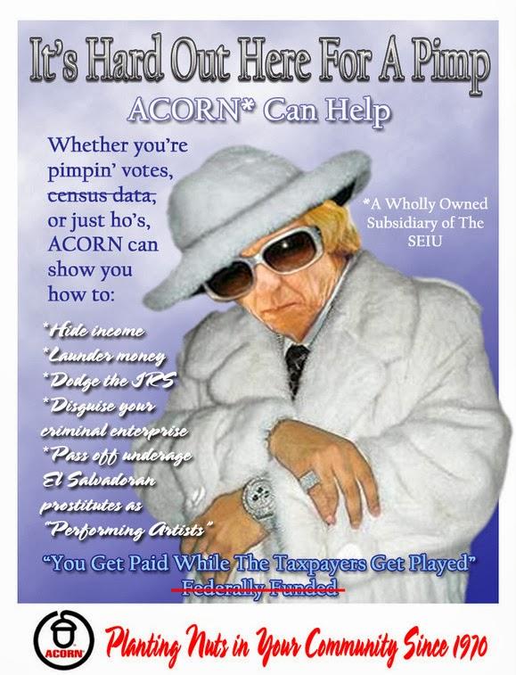 ACORN Crooks on the March for Obamacare – MatthewVadum Com