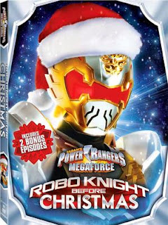 DVD Review - Power Rangers Megaforce: Robo Knight Before Christmas