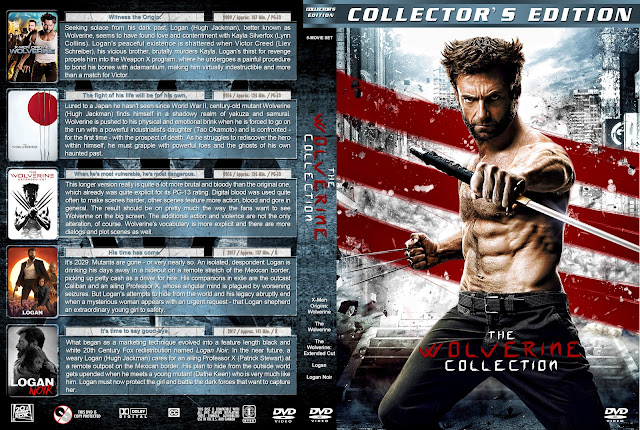 The Wolverine Collection DVD Cover