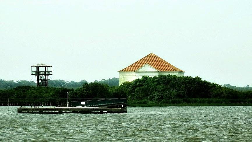 Museu da Ilha da Pólvora, em Rio Grande