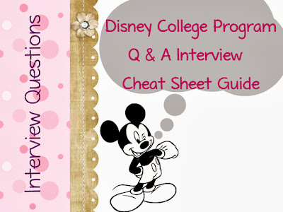 Disney College Program Interview Questions Guide