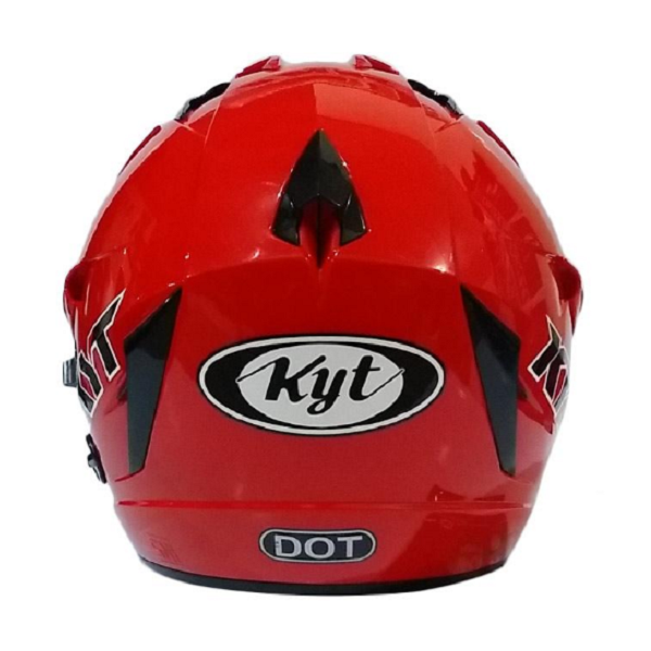 KYT Skorpion King Fire Red Solid Glossy