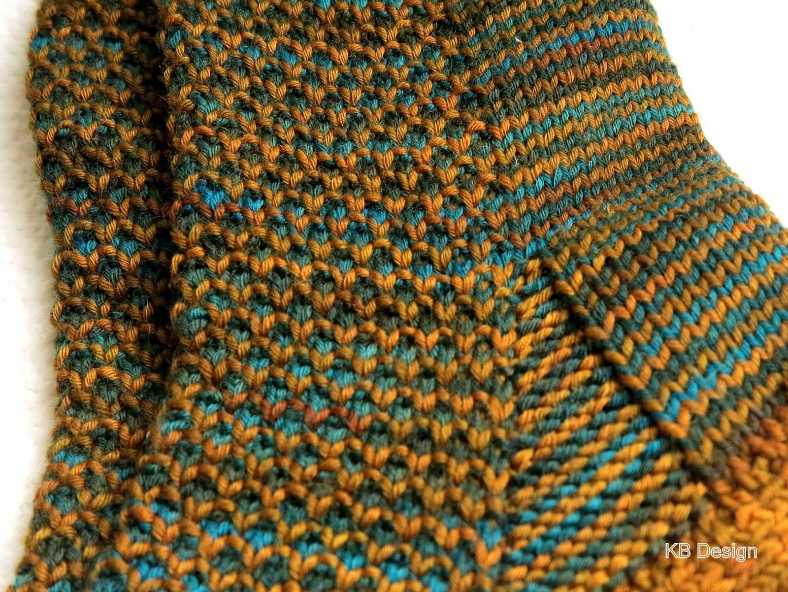 Kb Design Socken Im Gebrochenen Perlmuster
