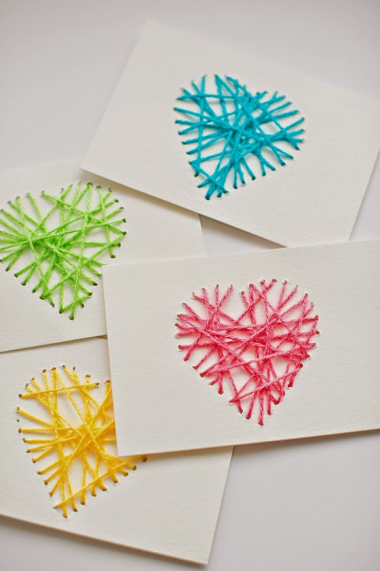 DIY Monday # Valentine's day paper crafts - Ohoh Blog