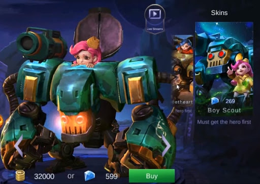 Jawhead New Skin – Boy Scout