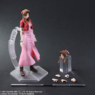 "Figuras: Imágenes del Play Arts Kai de de Aerith Gainsborough de ""Final Fantasy VII: Crisis Core"" - Square Enix"
