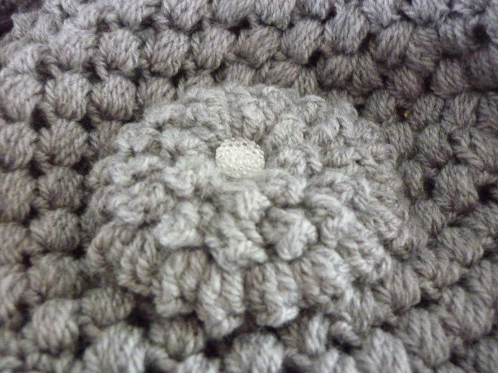 Knoopjesz Haken Puff Stitch Muts En Sjaal