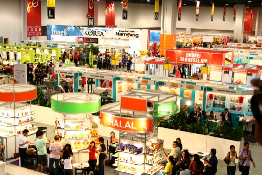 BoyRaket com: Free Seminars for Exporters at International Food Expo
