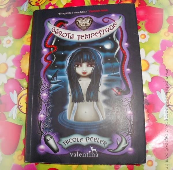 Garota Tempestade, Nicole Peeler, Editora Valentina, livro, sinopse, capa