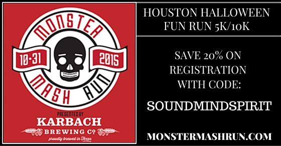 Houston Halloween Fun Run - Monster Mash Run Coupon