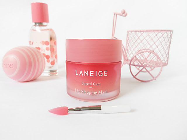 bblogger liz breygel yesstyle Laneige Lip Sleeping Water Mask lip care balm Blogger Review Korean Beauty