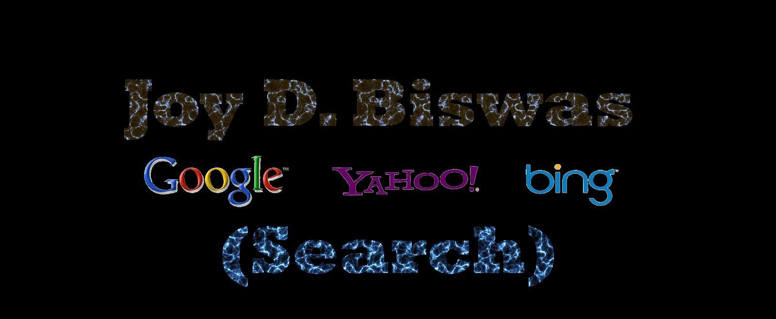 Joy D. Biswas ✌✌™