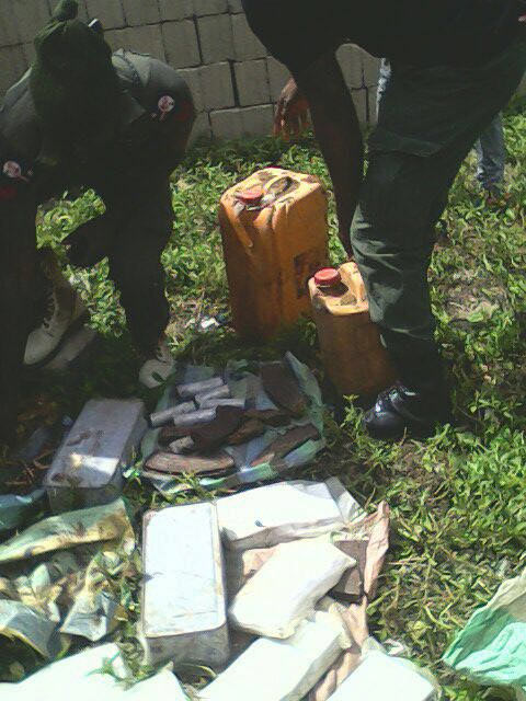 Photos: Shocking huge number of ammunitions recovered from Borno residence