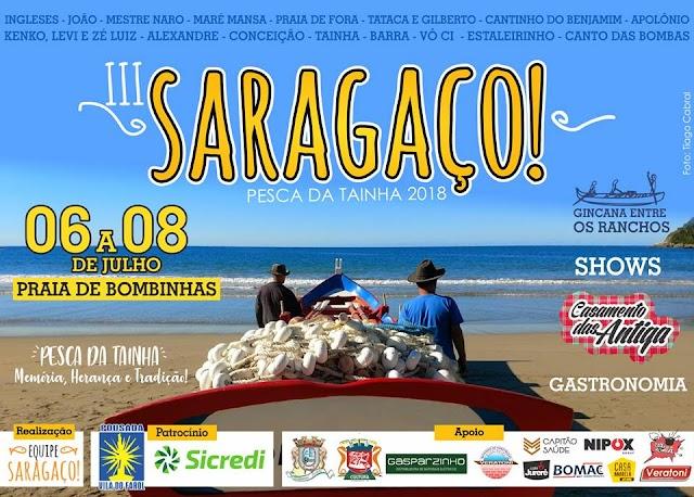 Saragaço Pesca da Tainha 2018