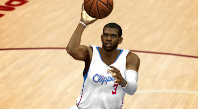 NBA 2K14 Realistic Chris Paul L.A. Clippers CF Patch