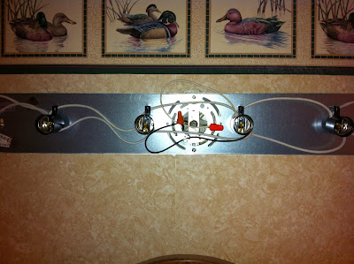 How To Install A Simple Bathroom Vanity Light