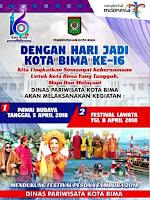 <b>Akan Digelar Pawai Budaya, Sambut HUT ke-16 Kota Bima Tanggal 5 April Nanti</b>