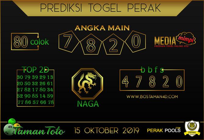 Prediksi Togel PERAK TAMAN TOTO 15 OKTOBER 2019