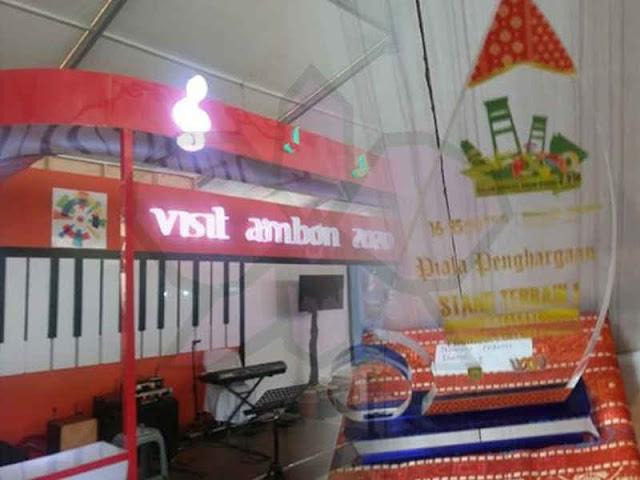 Pemkot Ambon Terbaik Promosi Potensi Daerah di Sumsel Expo