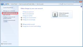 Cara Mudah Membuat Password Reset Disk Windows 7 Dengan Flashdisk