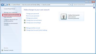 Cara Membuat Password Reset Disk Windows  Cara Membuat Password Reset Disk Windows 7 Dengan Flashdisk (Cepat dan Mudah)