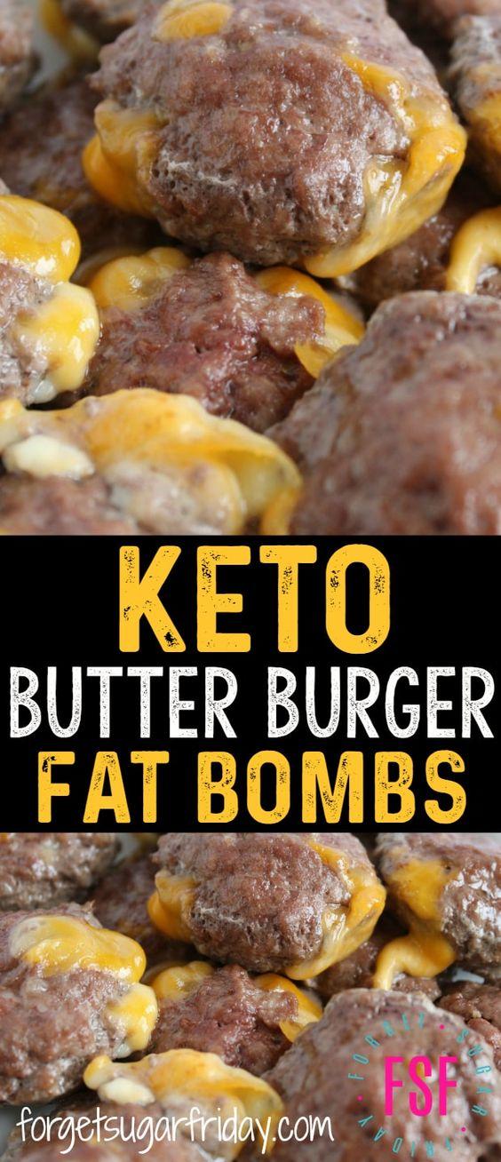 Keto Butter Burgers (Savory Fat Bomb)