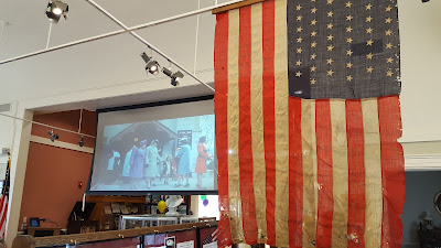 Chilson films were showing bring oos and ahs, and recognition from some of the onlookers