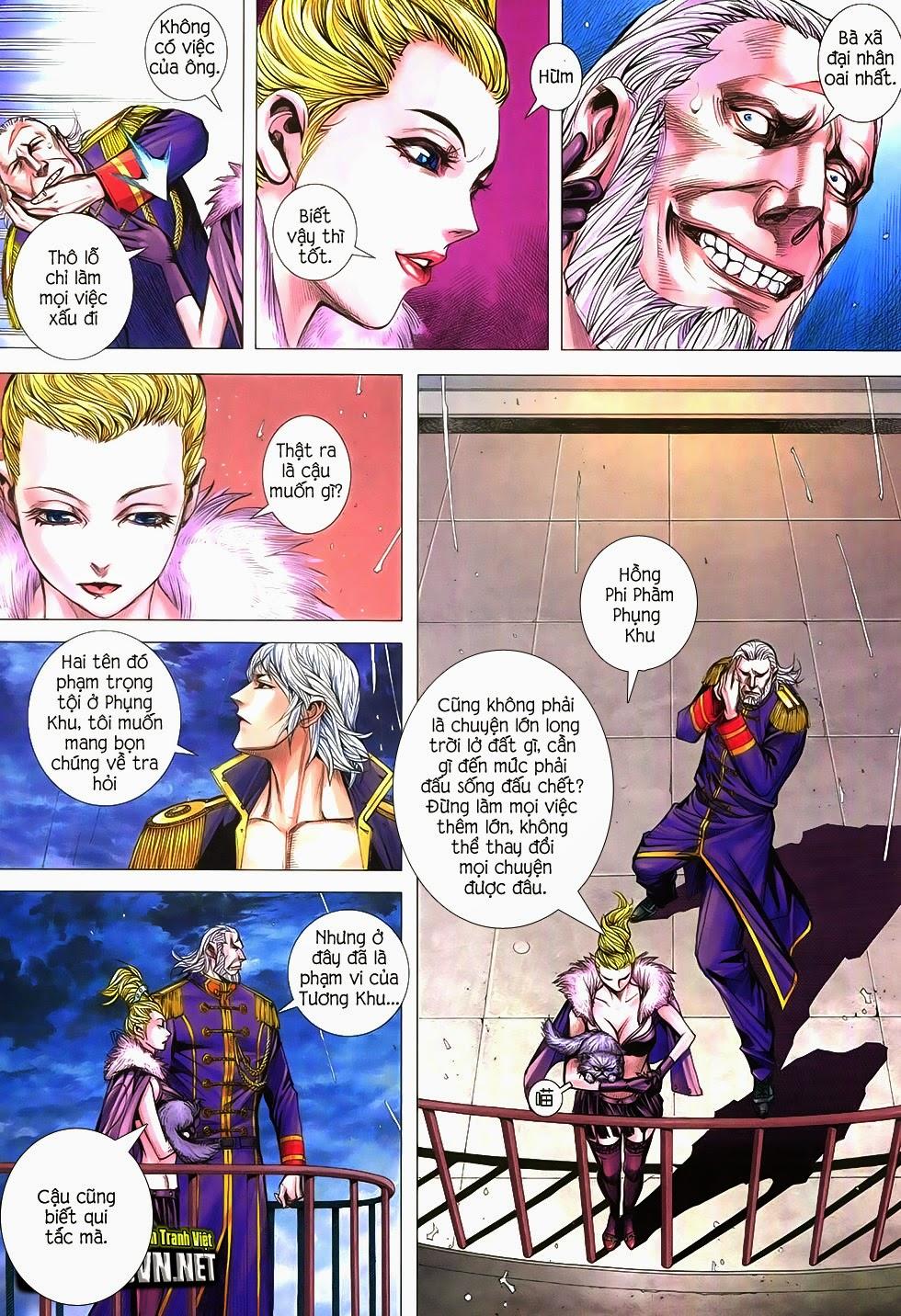 Đại Quân Phiệt chap 21 trang 7