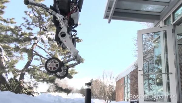 بالفيديو: بوسطن ديناميكس تكشف رسميا عن روبوتها المذهل Handle